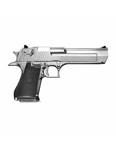 GBB Desert Eagle .50AE Hard Kick chrome gaz